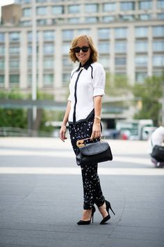 Street Style From New York Fashion Week, Day One - The Cut