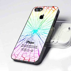 craked glass iphone 5 case