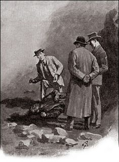 The Hound of the Baskervilles  Chapter XII Death on the Moor SIDNEY PAGET The Strand Magazine, February 1902 'WHO – WHO'S THIS?' HE STAMMERED.'