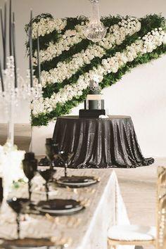 Photographer:  Arte De Vie | Floral Designer: Bee's Wedding Designs | Event Planner: Blue Gardenia New Orleans Weddings Rehearsal Dinner Themes, Rehearsal Dinner Inspiration, Rehearsal Dinners, Wedding Inspiration, Chic Wedding, Wedding Events, Our Wedding, Wedding Blog, Crystal Candelabra