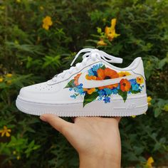 Final shot of this hand painted leopard print Nike Air Force 1 custom🎨 Customised for Hype Shoes, On Shoes, Aqua Shoes, Custom Painted Shoes, Hand Painted Shoes, Nike Custom Shoes, Cute Nike Shoes, Custom Made Shoes, Nike Shoes Air Force