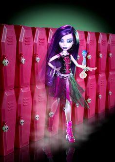 Monster High Dolls: Spectra Vondergeist (Daughter of the Ghosts)