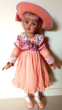 Hannah by Jan McLean - one of my favourite dolls!