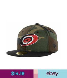 Hats Carolina Hurricanes Era Nhl Woodland Tc Fitted 59Fifty Cap Hat $35 #ebay #Fashion