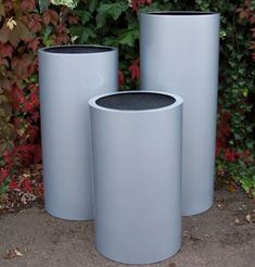 The Fibreglass Cylinder 'Pillar' Range - (Medium) 75cm Tall