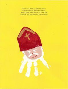 St. Nicholas Hand Print                                                                                                                                                                                 Plus