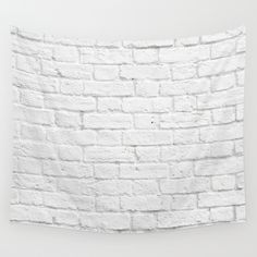 Buy Brick Wall by Patterns and Textures as a high quality Wall Tapestry. Worldwide shipping available at Society6.com. Just one of millions of products available.