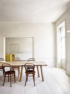A minimalist apartment designed by Claesson Koivisto Rune, shown recently during Stockholm Design Week