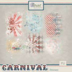 Collections :: C :: Carnival by Flower Scraps :: Carnival Smears #flowerscraps #theStudio #digiscrap #carnival