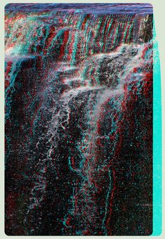 Kakabeka Falls 3-D :: Anaglyph HDR/Raw Stereoscopy by zour on DeviantArt