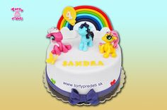 Torta 3x My Little Pony