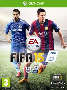 FIFA 15 is association football simulation sports football video game This game developed by EA Canada and published by EA Sports. One of the best Sports Football video game ever. Fifa 15 Ps4, Fifa 15 Game, Xbox 360 Fifa, Ea Fifa, Jeux Xbox One, Xbox One Games, Playstation Games, Wii, Fifa 2015