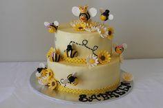 Bumblebee birthday cake by Maryam's Kitchen, via Flickr