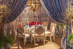 VIDEO: See How the Striking Tablescapes of the DIFFA Dining by Design Event Are Made
