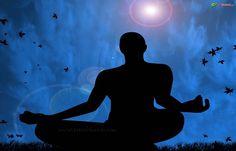 meditation wallpaper, Hindu wallpaper, Meditation wallpaper, black and blue color, Download wallpaper, Spiritual wallpaper