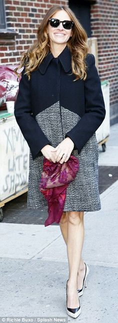 """Julia Roberts in Stella McCartney (2013 """"Late Show With David Letterman"""" appearance)"""