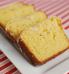Eggnog Bread - the most delicious holiday treat! That glaze is amazing!