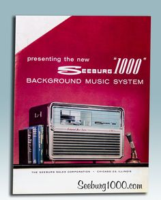 Seeburg 1000 Flyer introducing the Seeburg 1000 Background Music System from http://www.seeburg1000.com