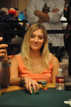 Gaëlle Baumann again....one of the few Poker Pro's that is genuinely nice...lol