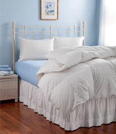 Sateen White Goose Down Comforter
