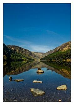 Upper Lake Glendalough, Laragh, Wicklow, Ireland Copyright: Sylvain Kerdreux