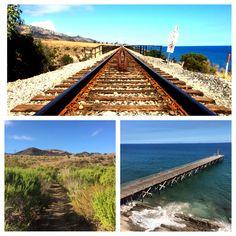 Local beach walks and fun hikes on the central coast near Goleta. #goodLife Where does the road lead?