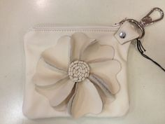 Shelly Jack Handmade Leather Flower Pouch http://www.etsy.com/shop/shellyjackhandmade