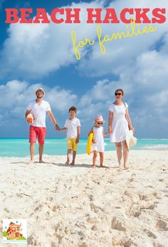10 great beach hacks for families.  Tips and tricks for making going to the beach with kids much easier from Mum in the Mad House