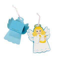 Angel Favor Boxes - OrientalTrading.com