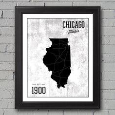 Chicago White Sox by UniversityPrints on Etsy, $12.00