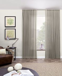 Ripple Fold Drapery by The Shade Store modern-curtains Ripplefold Curtains, Interior, The Shade Store, Modern Drape, Ripple Fold Drapes, Drapes Curtains, Curtains, Furnishings, Ripplefold Draperies