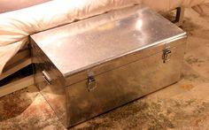 galvanized trunk- CB2