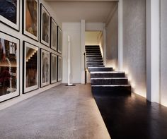 home office next to stair - Google Search