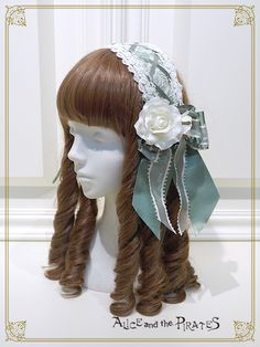 Alice and the Pirates Innocent Rosier head dress style head bow