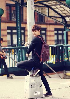Lee Jong Suk. He works for tips now lol
