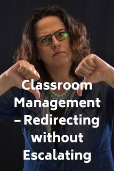 "Guest Post - Classroom Management: Redirecting without Escalating - Somehow, someway, we want to figure out how to keep some of our most challenging students in class, but we want to figure out how to keep them there without sacrificing our quality of instruction. First article in a 3-part series entitled, ""Entry, Reframe and Walk Away."""