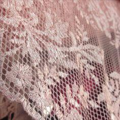 Tecido tela bordada rosa amendoeiras em flor