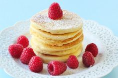 Start Your Day Right – Ricotta Pancakes