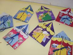 Cirque - lesptitsbricoleurss jimdo page! Circus Crafts, Circus Art, Circus Theme, Preschool Circus, Image Cirque, Activities For Kids, Crafts For Kids, Preschool Ideas, Classroom Activities