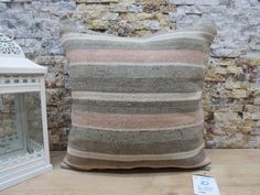 throw pillow / bohemian kilim pillow / decorative pillow / unique pillow / anatolian pillow / rustic pillow / 16x16 pillow cover / code 7604 Patio Pillows, Rustic Pillows, Bohemian Pillows, Cushions On Sofa, Decorative Pillows, Aztec Pillows, Kilim Pillows, Bed Pillows, Sofa Pillow Covers