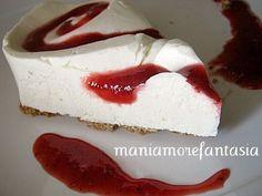 cheesecake light | ricetta cheesecake leggero | cheesecake senza forno
