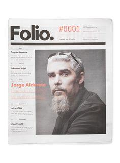 Folio. by Face. via Behance