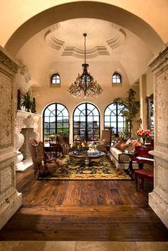 Italian Villa Living Area | Fratantoni Luxury Estates ᘡղbᘠ