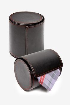 Leatherette Gift Roll Tie Case by Ties.com