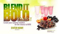 Blend it Bold Tea Contest