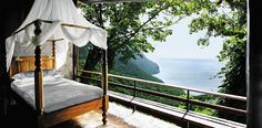 """Win a 4 night """"Great Escape"""" at Ladera in St. Lucia. Bliss!"""