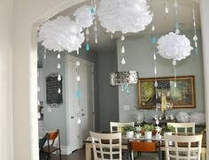 Come rain or shine baby shower... I like this idea since my baby shower will probably be in April.