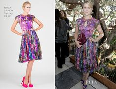 Dianna Agron In Oday Shakar - 2nd Annual 25 Most Powerful Stylists Luncheon