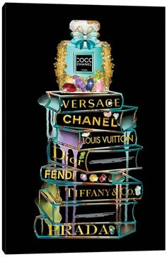 Chanel Wall Art, Canvas Prints & Paintings   iCanvas Chanel Wall Art, Chanel Decor, Chanel Art, Chanel Perfume, Chanel Canvas, Coco Chanel Wallpaper, Chanel Wallpapers, Versace Wallpaper, Fashion Wall Art