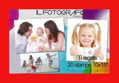 IL FOTOGRAFO AREZZO via Monte Falco 12 tel 0575324898 Ti regala 20 stampe 10x15 per foto da CELLULARE o TABLET per tutte le altre offerte vai su www.ilfotografoarezzo.rikorda.it